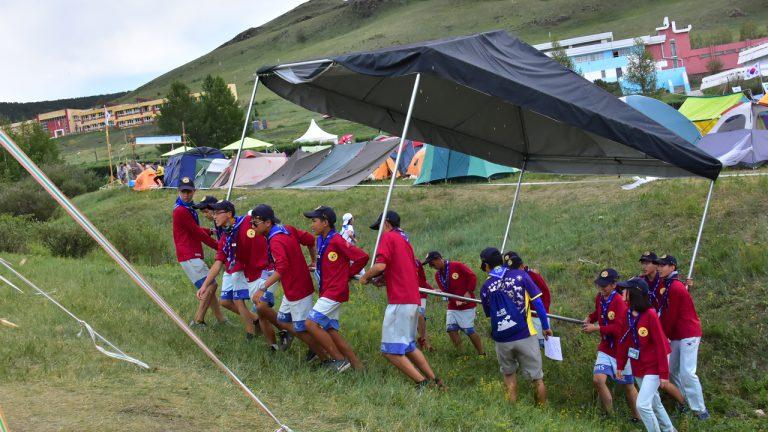 2017亞太區蒙古童軍大露營 | 跨越語言的藩籬