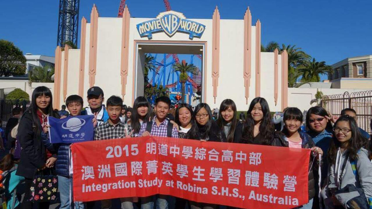 澳洲國際菁英學生學習體驗之旅   打開你的世界觀