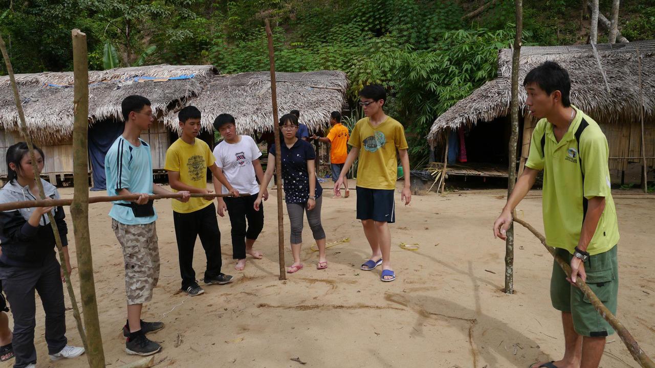 馬來西亞志工服務學習 | 瞧!有光溜溜的原住民!