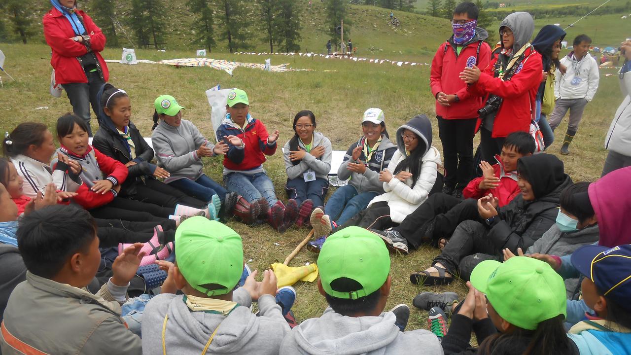 2014蒙古童軍大露營 | 一起來當遊牧民族