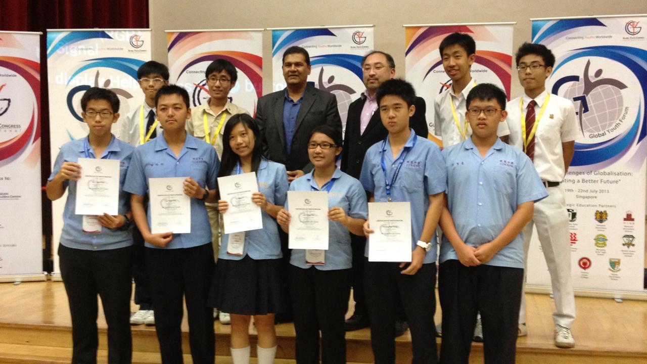 2013新加坡第五屆全球青少年論壇 | 勇闖新加坡